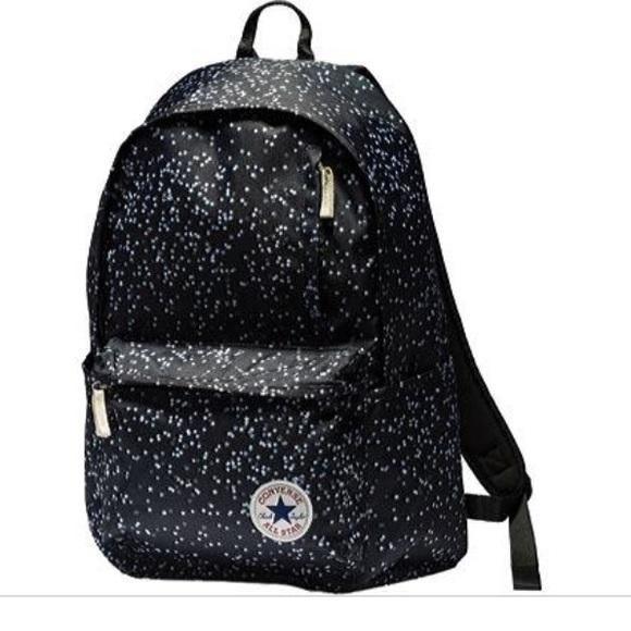 29bbec079e6f Converse Handbags - Converse Stars black white Teeny Star backpack